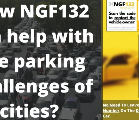 How NGF132 can help with the parking challenges of cities?