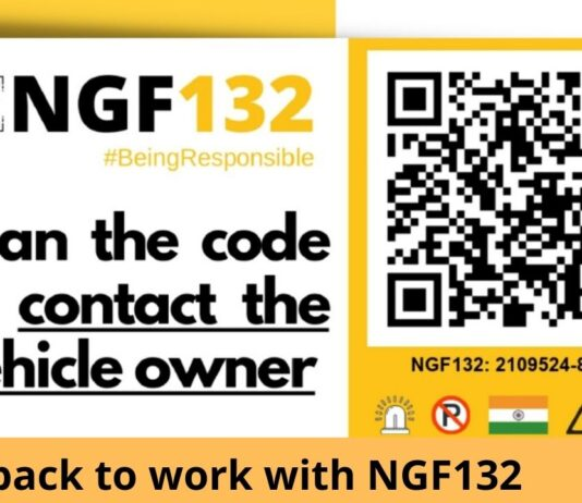 Get back to work with NGF132